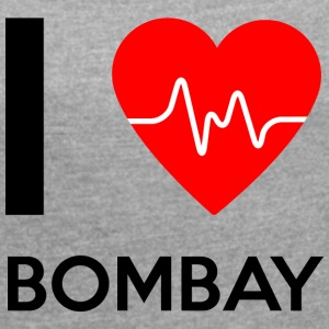 I Love Bombay - I love Bombay - Women's T-shirt with rolled up sleeves