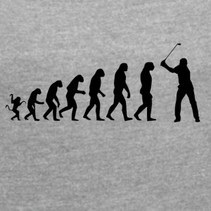 Golf Evolution Tshirt - Dame T-shirt med rulleærmer