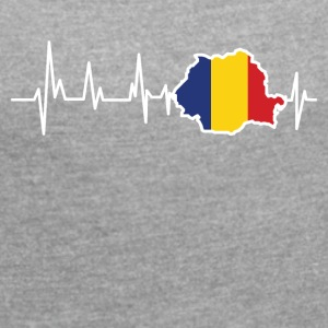 Romania - Women's T-shirt with rolled up sleeves