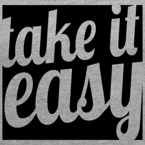 Take it easy - Women's T-shirt with rolled up sleeves