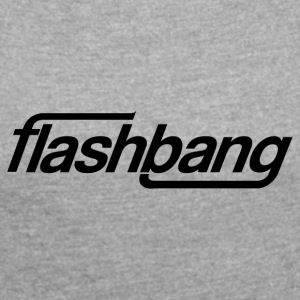 Flash Bang Single - 50kr Donation - Dame T-shirt med rulleærmer