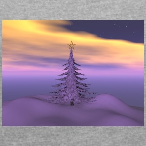 firetree_and_snow - Women's T-shirt with rolled up sleeves