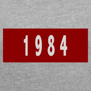 1984 - Women's T-shirt with rolled up sleeves
