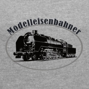 Modellers - Women's T-shirt with rolled up sleeves