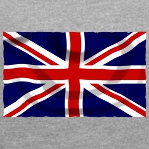 united kingdom - Women's T-shirt with rolled up sleeves