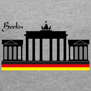 We are Berlin - Women's T-shirt with rolled up sleeves