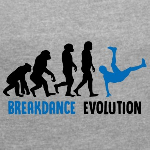 ++ ++ Breakdance Evolution - Maglietta da donna con risvolti