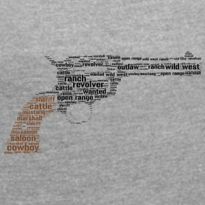 revolver word cloud - Women's T-shirt with rolled up sleeves