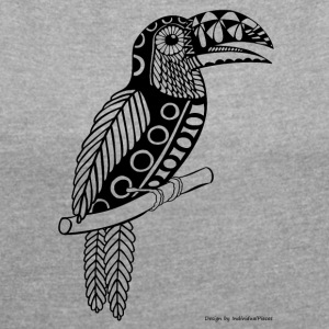 Toucan - Women's T-shirt with rolled up sleeves
