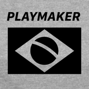 Playmaker Brazil - Women's T-shirt with rolled up sleeves
