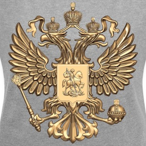 russia - Women's T-shirt with rolled up sleeves