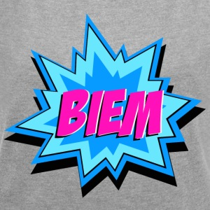 BIEM - Women's T-shirt with rolled up sleeves