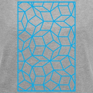 Quasicristal - Women's T-shirt with rolled up sleeves