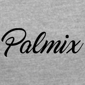 Palmix shirt - Women's T-shirt with rolled up sleeves