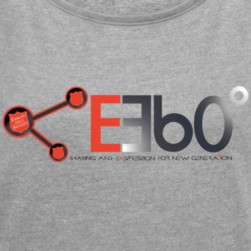 Nuovo Logo E360 slogan png - Maglietta da donna con risvolti