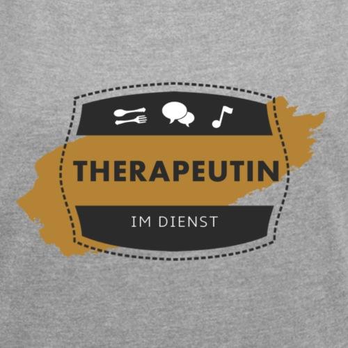 Therapeutin im Dienst