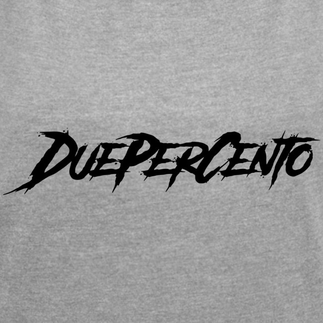 DuePerCento Scritta Nera