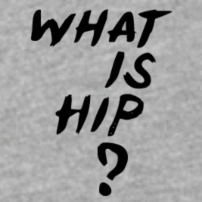 What Is Hip? Standard Logo