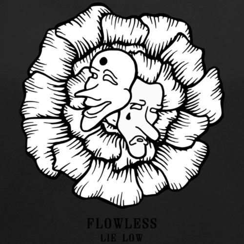 LIE LOW - Vrouwen T-shirt met opgerolde mouwen