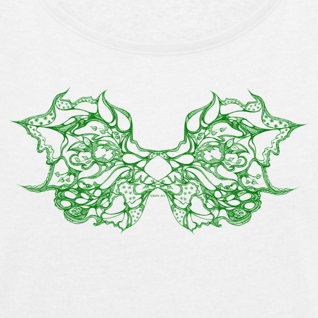 Green lace wings