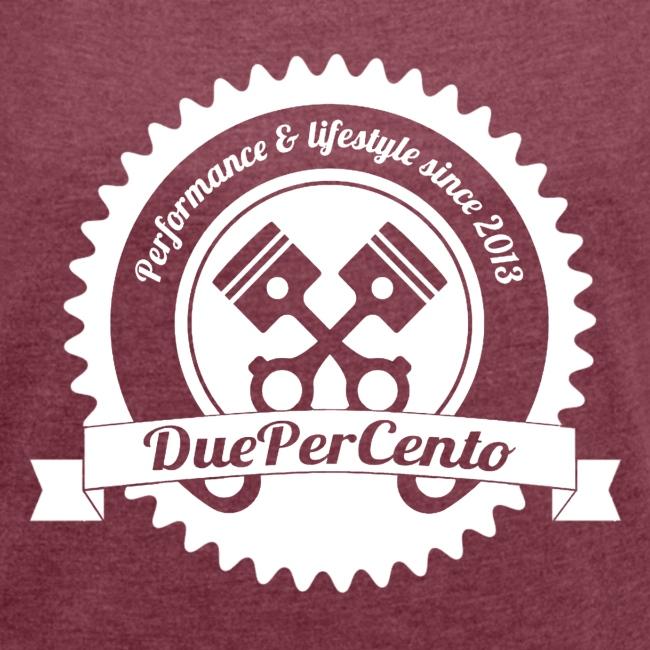 DuePerCento Logo Bianco