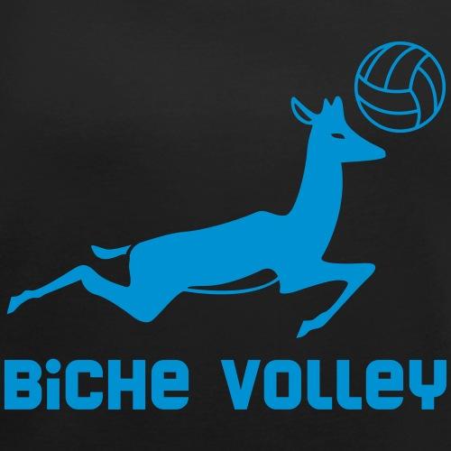 Biche Volley - T-shirt à manches retroussées Femme