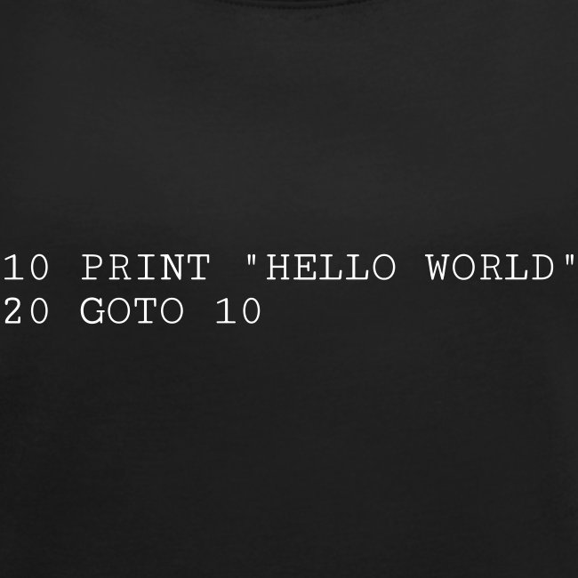HELLO WORLD - Commodore64 BASIC