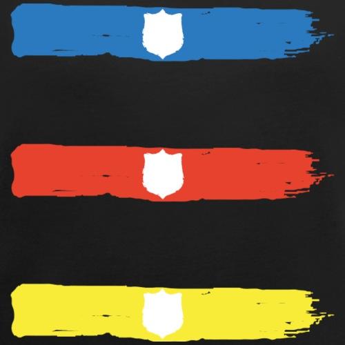 T Shirt Sagoma Scudo1 png - Maglietta da donna con risvolti