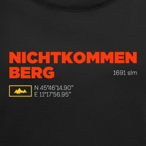 Monte Novegno | Deutsch edition - Maglietta da donna con risvolti
