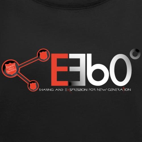 Nuovo Logo E360 Bianco slogan png - Maglietta da donna con risvolti