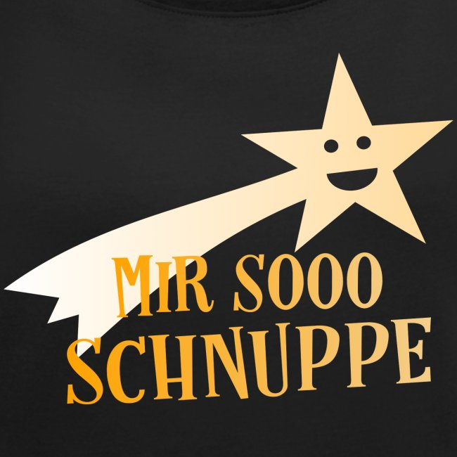 Coole Sprüche Mir Schnuppe Sternschnuppe Frauen T Shirt Mit Gerollten ärmeln