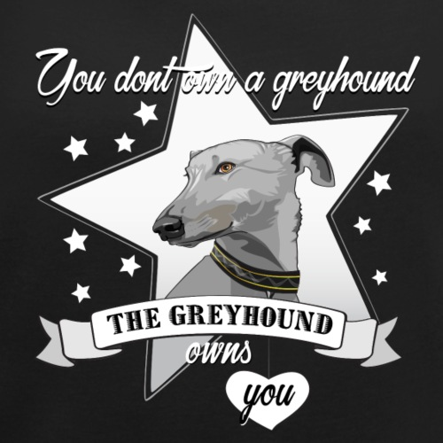 The Greyhound - T-shirt med upprullade ärmar dam