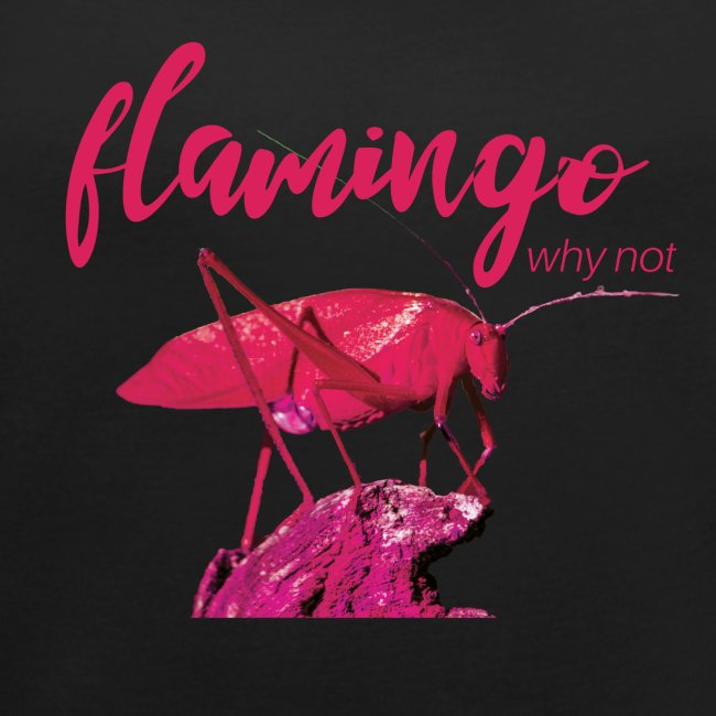 Wannabe Flamingo Sprinkhaan HOT PINK BABY