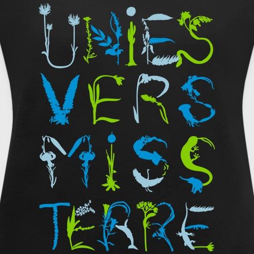Univers Mystère - T-shirt à manches retroussées Femme