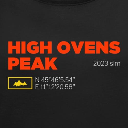 Cima Forni Alti | High Ovens Peak - Maglietta da donna con risvolti