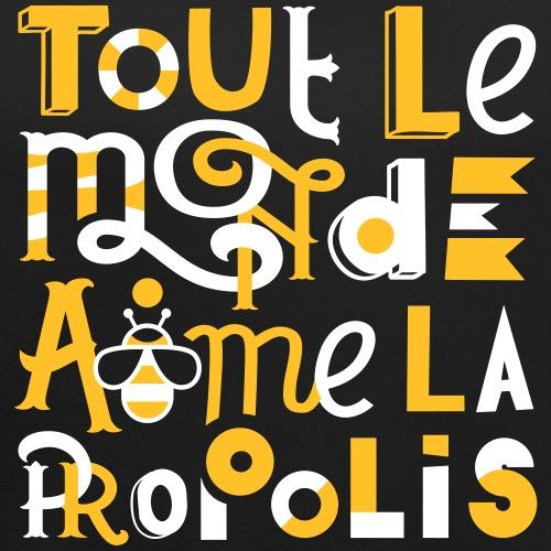Abeilles et Propolis - T-shirt à manches retroussées Femme