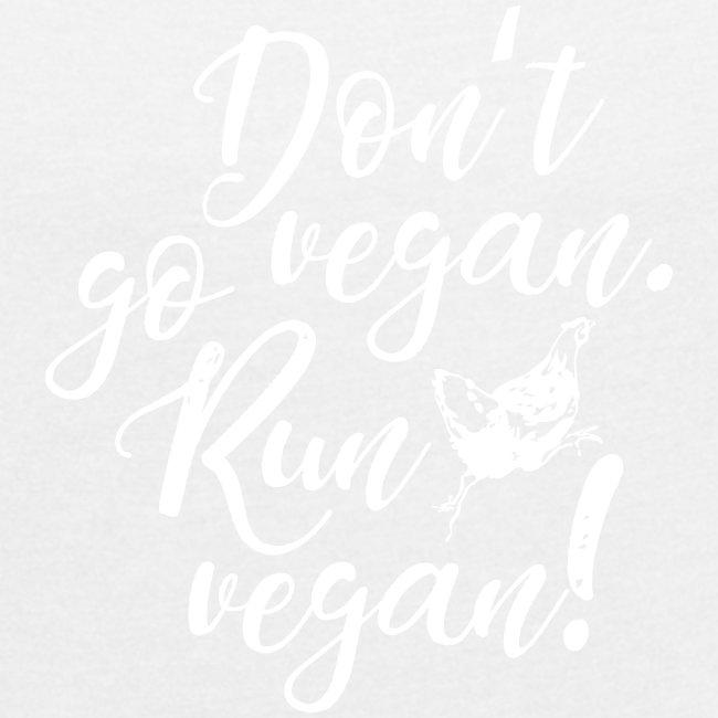 Run vegan!