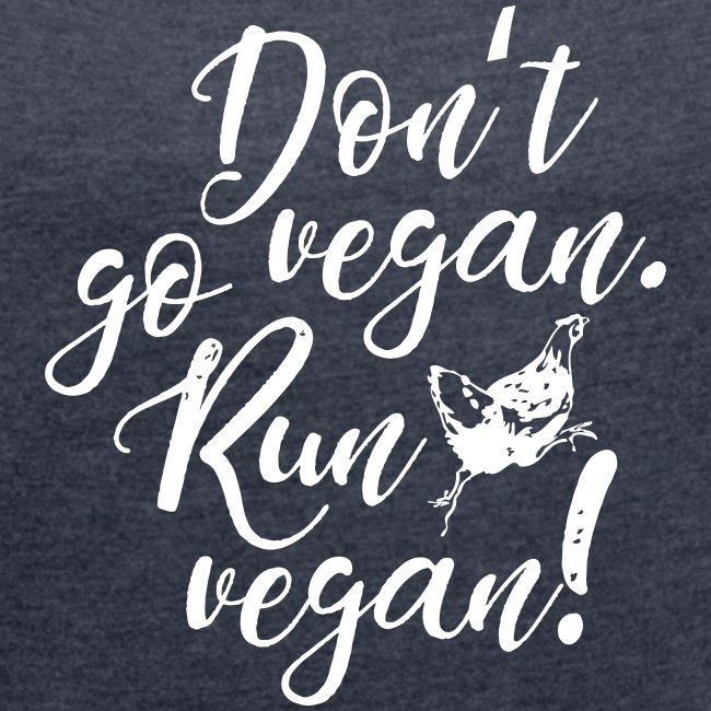 Run vegan!