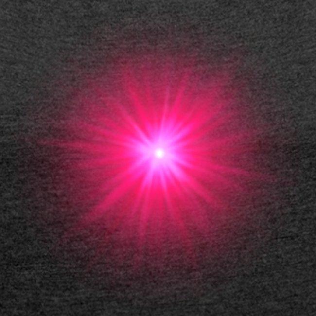 różowe promienie
