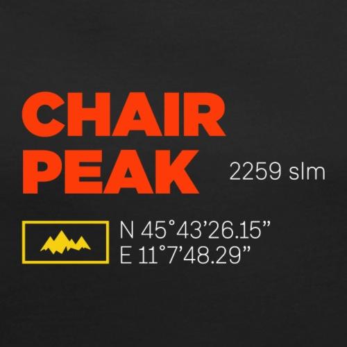 Cima Carega | Chair Peak - Maglietta da donna con risvolti