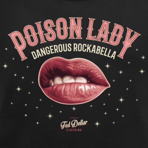 Poison Lady - T-shirt à manches retroussées Femme