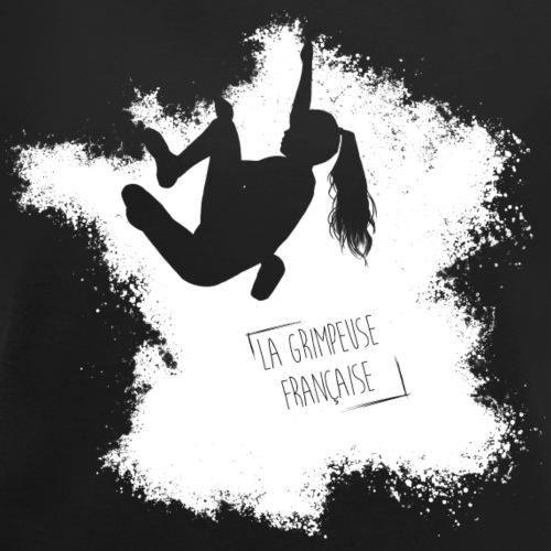 la grimpeuse fr - T-shirt à manches retroussées Femme
