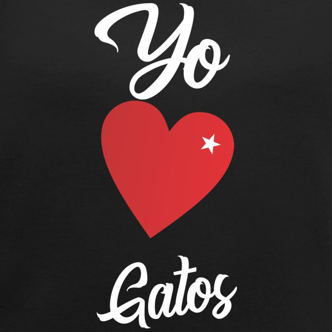 """Diseño """"Yo Amo Gatos"""""""