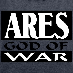 Ares _-_ God_Of_War - Camiseta con manga enrollada mujer