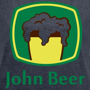 John Beer - Women's T-shirt with rolled up sleeves