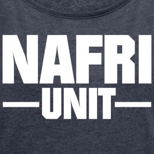 NAFRI Unit - Women's T-shirt with rolled up sleeves