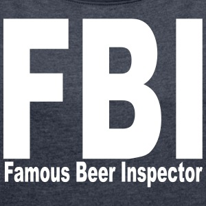 fbi - Women's T-shirt with rolled up sleeves