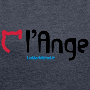 CHAT Angel - Women's T-shirt with rolled up sleeves