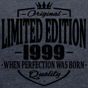 Limited edition 1999 - Women's T-shirt with rolled up sleeves