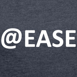 @EASE - Women's T-shirt with rolled up sleeves